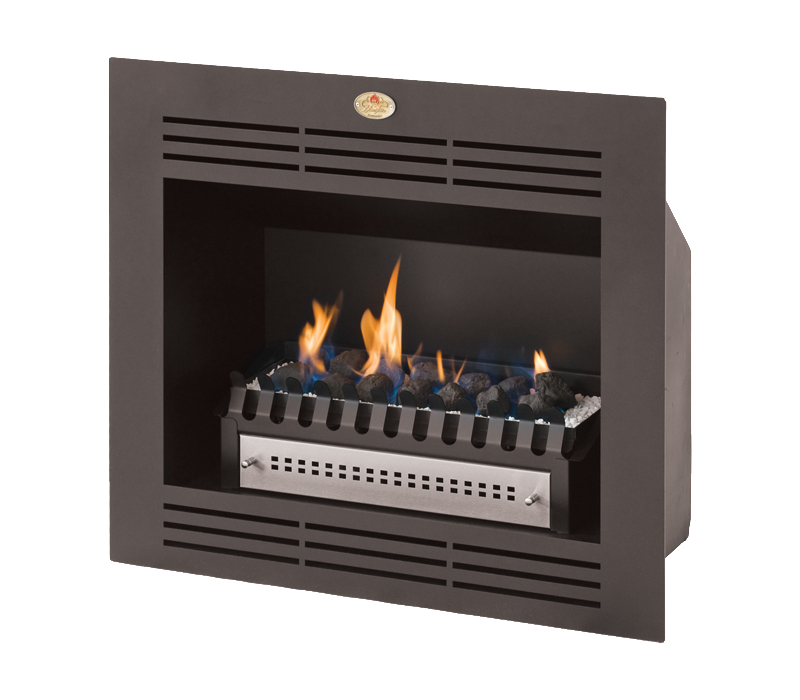 Built-in Firebox Vent free fireplace