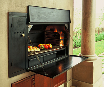 Built-in Braai